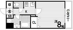 リアライズ神戸WEST[4階]の間取り