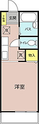 310ハイツ生実(おゆみ)[203号室]の間取り