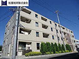 愛知県豊橋市牛川町字洗島の賃貸マンションの外観