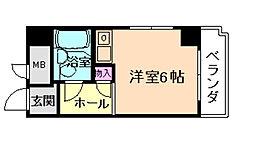 グローバル野田[5階]の間取り