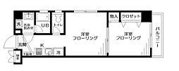 ソレーユ板橋[4階]の間取り