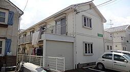 東京都八王子市暁町3丁目の賃貸アパートの外観