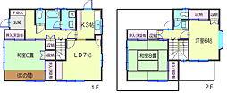 [一戸建] 神奈川県横浜市鶴見区馬場1丁目 の賃貸【/】の間取り