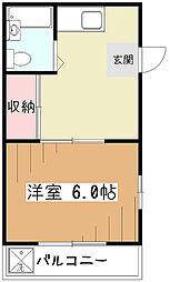 メゾンラーク[2階]の間取り