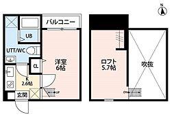 ルーモ平塚(ルーモヒラツカ)[1階]の間取り