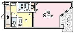 Mプラザ津田駅前十一番館〜[3階]の間取り