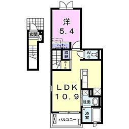 サジタリア[2階]の間取り