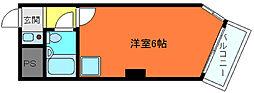 ライオンズマンション神戸元町第2[5階]の間取り