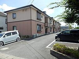 滋賀県野洲市西河原5丁目の賃貸アパートの外観