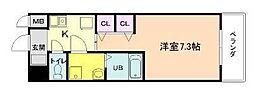 サムティ梅田インターコア[5階]の間取り