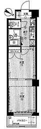 メインステージ東高円寺[3階]の間取り