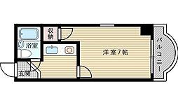 パールハイツ江坂[3階]の間取り