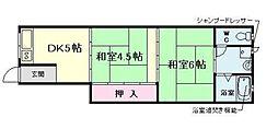 [一戸建] 大阪府大阪市福島区鷺洲4丁目 の賃貸【/】の間取り