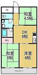 マンション99[2階]の間取り