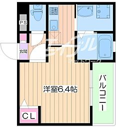 プライムコート太子橋[1階]の間取り