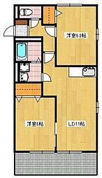 M&S7番館[2階]の間取り