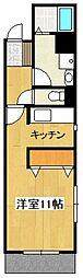 サイドII[102号室]の間取り