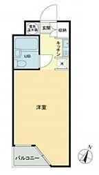 マリオン宮崎台[2階]の間取り