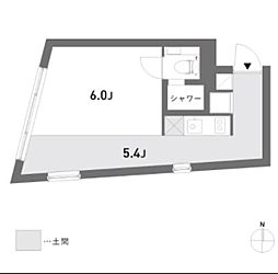 カトレ・コート[2階]の間取り