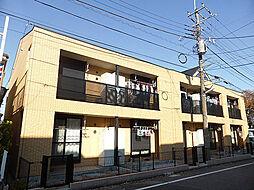 東京都東大和市向原1丁目の賃貸アパートの外観