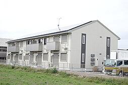 滋賀県東近江市東沖野3丁目の賃貸アパートの外観