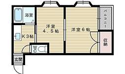 Jiro淡路[5階]の間取り