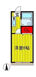 ダイワコーポI[2階]の間取り