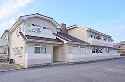 栃木県小山市若木町3丁目の賃貸アパートの外観