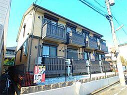 東京都八王子市堀之内2丁目の賃貸アパートの外観