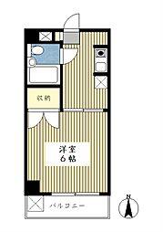 サンモール第3青葉台[305号室]の間取り