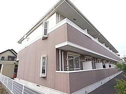 千葉県柏市つくしが丘5丁目の賃貸アパートの外観