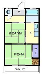 高千代マンション[3階]の間取り