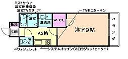 学生会館Grand E`terna大阪[4階]の間取り