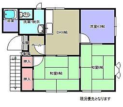 ソレム横浜  B棟[101号室]の間取り