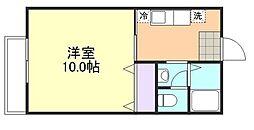 ジョイパレス21[2階]の間取り