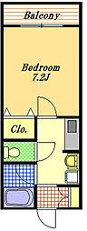 マンハイマーホフ[3階]の間取り