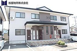 愛知県豊橋市多米中町2丁目の賃貸アパートの外観