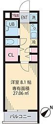 フェリーチェ高円寺[1階]の間取り