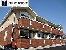 愛知県田原市浦町青尾の賃貸アパートの外観