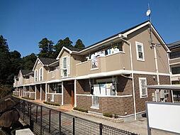 滋賀県東近江市五個荘竜田町の賃貸アパートの外観