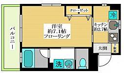 メゾン・ド・サク3[1階]の間取り