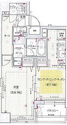 エステムプラザ日本橋[9階]の間取り