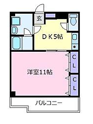 メゾン・ド・ソレイユ太田[3階]の間取り