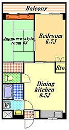 Maison de Balian's[1階]の間取り