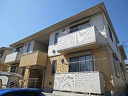 神奈川県横浜市都筑区新栄町の賃貸アパートの外観