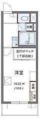 東急田園都市線 梶が谷駅 徒歩5分の賃貸マンション 3階1Kの間取り