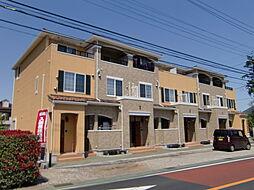 埼玉県所沢市大字北岩岡の賃貸アパートの外観