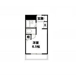 アミケンハイツ7階Fの間取り画像