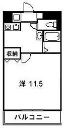 アルス香住ヶ丘[207号室]の間取り