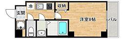 JR大阪環状線 桃谷駅 徒歩6分の賃貸マンション 6階1Kの間取り